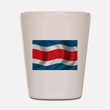 Flag of Costa Rica Shot Glass
