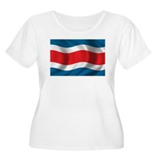 Flag of Costa Rica T-Shirt