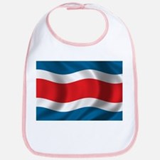 Flag of Costa Rica Bib