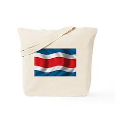 Flag of Costa Rica Tote Bag