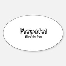 Propofol Sticker (Oval)