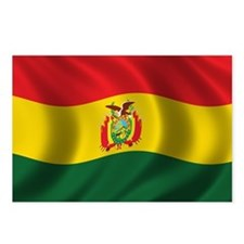 Flag of Bolivia Postcards (Package of 8)