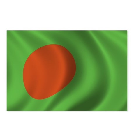 Flag of Bangladesh Postcards (Package of 8)