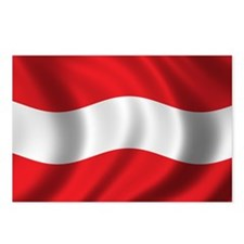 Flag of Austria Postcards (Package of 8)
