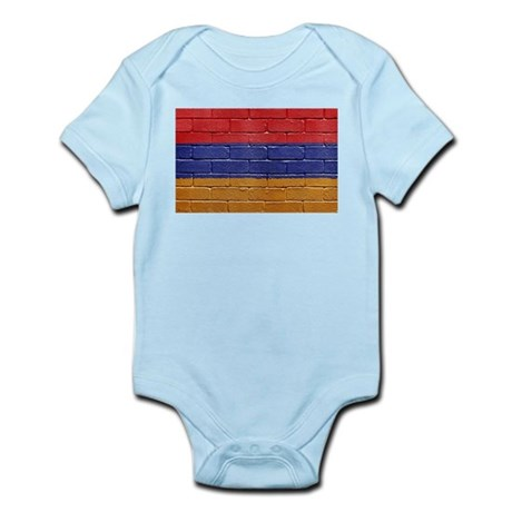 Flag of Armenia Infant Bodysuit