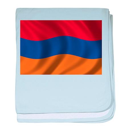 Flag of Armenia baby blanket