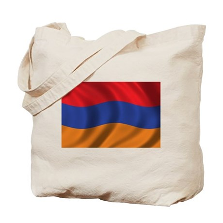 Flag of Armenia Tote Bag