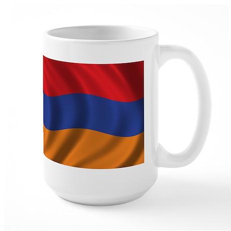 Flag of Armenia Large Mug