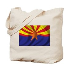 Flag of Arizona Tote Bag