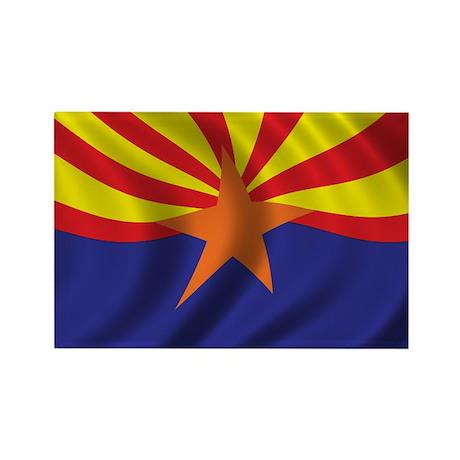 Flag of Arizona Rectangle Magnet