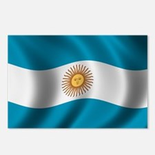 Flag of Argentina Postcards (Package of 8)