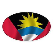 Flag of Antigua and Barbuda Decal