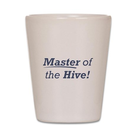 Master of the Hive Shot Glass