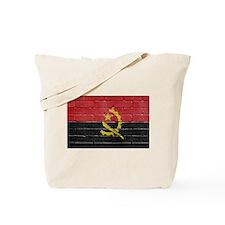 Flag of Angola Tote Bag