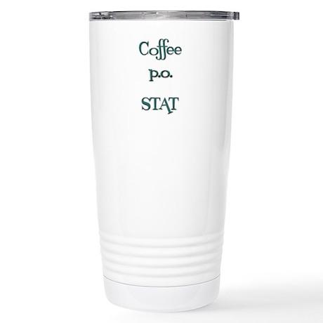 Coffe STAT Stainless Steel Travel Mug