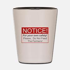 Notice / Farmers Shot Glass