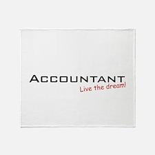 Accountant / Dream! Throw Blanket