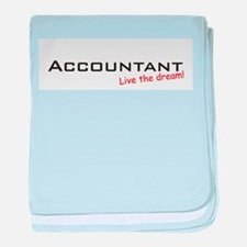 Accountant / Dream! baby blanket