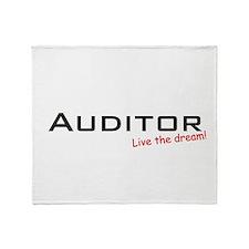 Auditor / Dream! Throw Blanket
