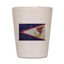 Flag of American Samoa Shot Glass