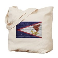 Flag of American Samoa Tote Bag