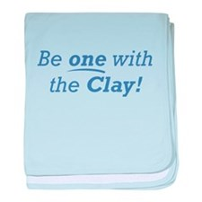 Clay / Be one baby blanket
