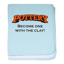 Pottery / Clay baby blanket