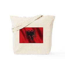 Flag of Albania Tote Bag