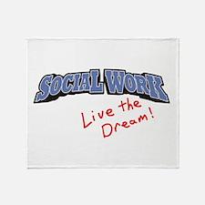 Social Work - LTD Throw Blanket