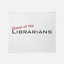 Librarians / Queen Throw Blanket