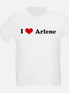 I Love Arlene Kids T-Shirt