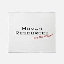 Human Resources / Dream! Throw Blanket