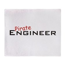 Pirate Engineer Throw Blanket