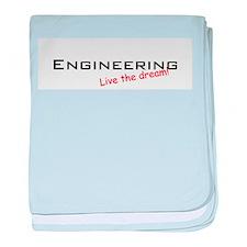 Engineering / Dream! baby blanket