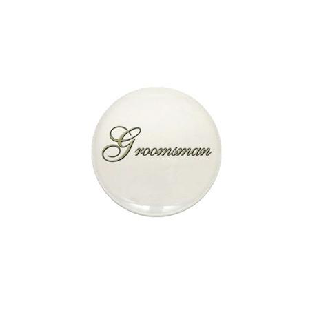 Groomsman Gifts Mini Button (10 pack)