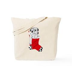 Harley Great Christmas Pup Tote Bag