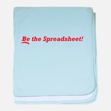 Be the Spreadsheet baby blanket
