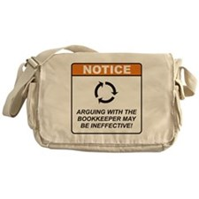 Bookkeeper / Argue Messenger Bag