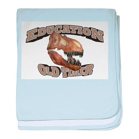 Education Old Timer baby blanket