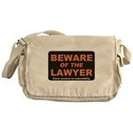 Beware / Lawyer Messenger Bag