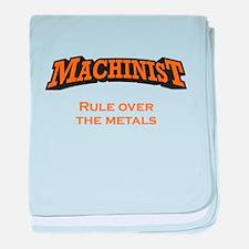 Machinist / Metals baby blanket