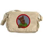 Monty Moonlight Messenger Bag