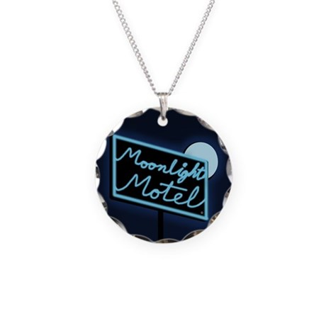 Moonlight Motel Necklace Circle Charm