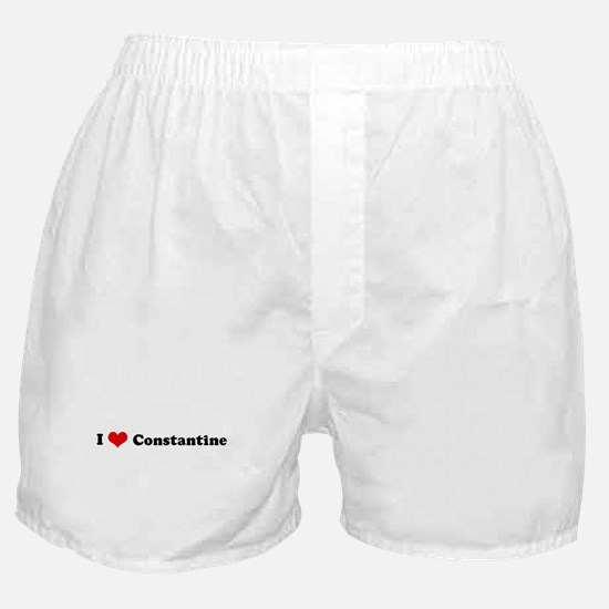 I Love Constantine Boxer Shorts