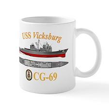 USS Vicksburg (CG-69) Mug