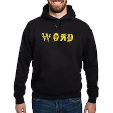 Golden Word Hoodie