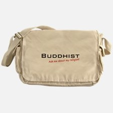 Buddhist / Ask Messenger Bag