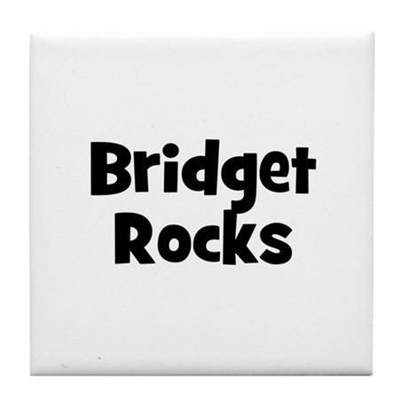 Bridget Rocks Tile Coaster
