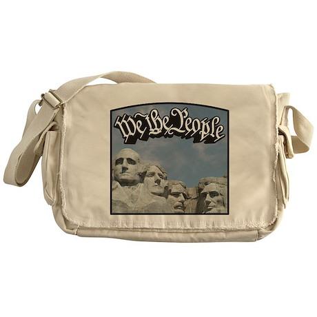 WTP / Rushmore / Black Messenger Bag