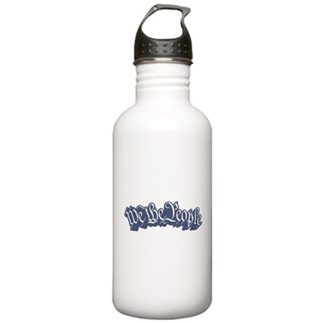 We The People (Blue) Stainless Water Bottle 1.0L